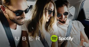 Uber e Spotify uniscono le forze, il viaggio diventa musica - Gamobu