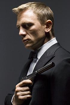 Daniel Craig, alla sua quarta apparizione come James Bond