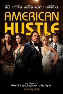 Il poster di American Hustle, uno dei primi film in 4K su Amazon Instant Video