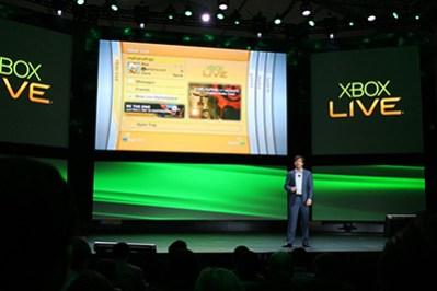 La presentazione di Xbox Live