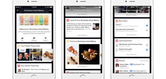 Facebook lancia Place Tips, il nuovo Foursquare/Yelp
