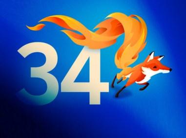 Il logo di Firefox 34