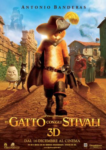 Il Gatto con gli Stivali, prodotto da DreamWorks