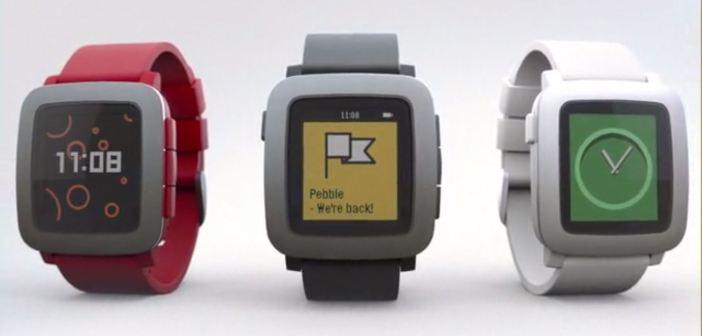 Pebble Time: il goal su Kickstarter raggiunto in 15 minuti