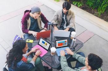 Studenti alle prese con Office 365