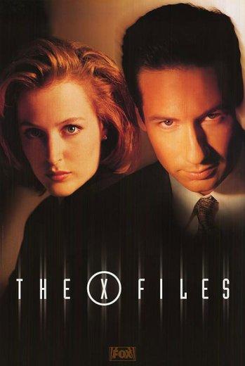 Il poster promozionale della serie originale X-Files
