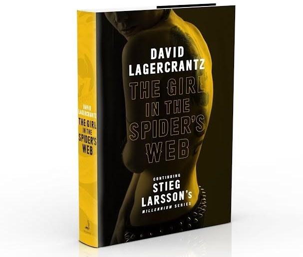 Ecco la copertina inglese di The Girl in the Spider's Web