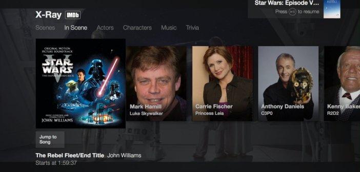 Amazon implementa la funzione X-Ray di IMDb sulle Fire TV