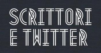 Infografica Scrittori e Twitter