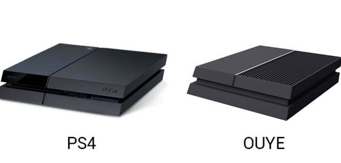 Il confronto tra Ouye e PlayStation 4