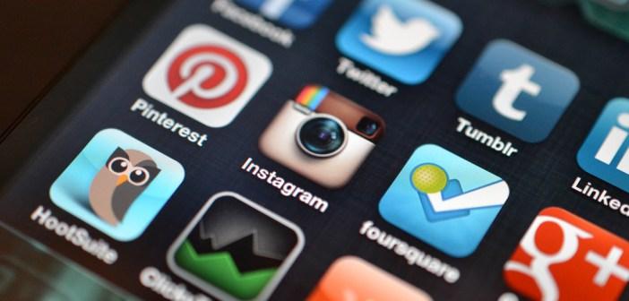 app su uno smartphone