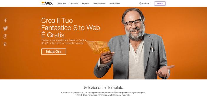 Wix - Creare un sito web - Gamobu