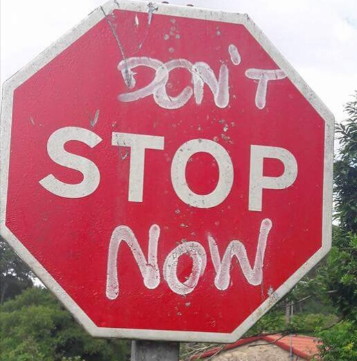 Dont stop now