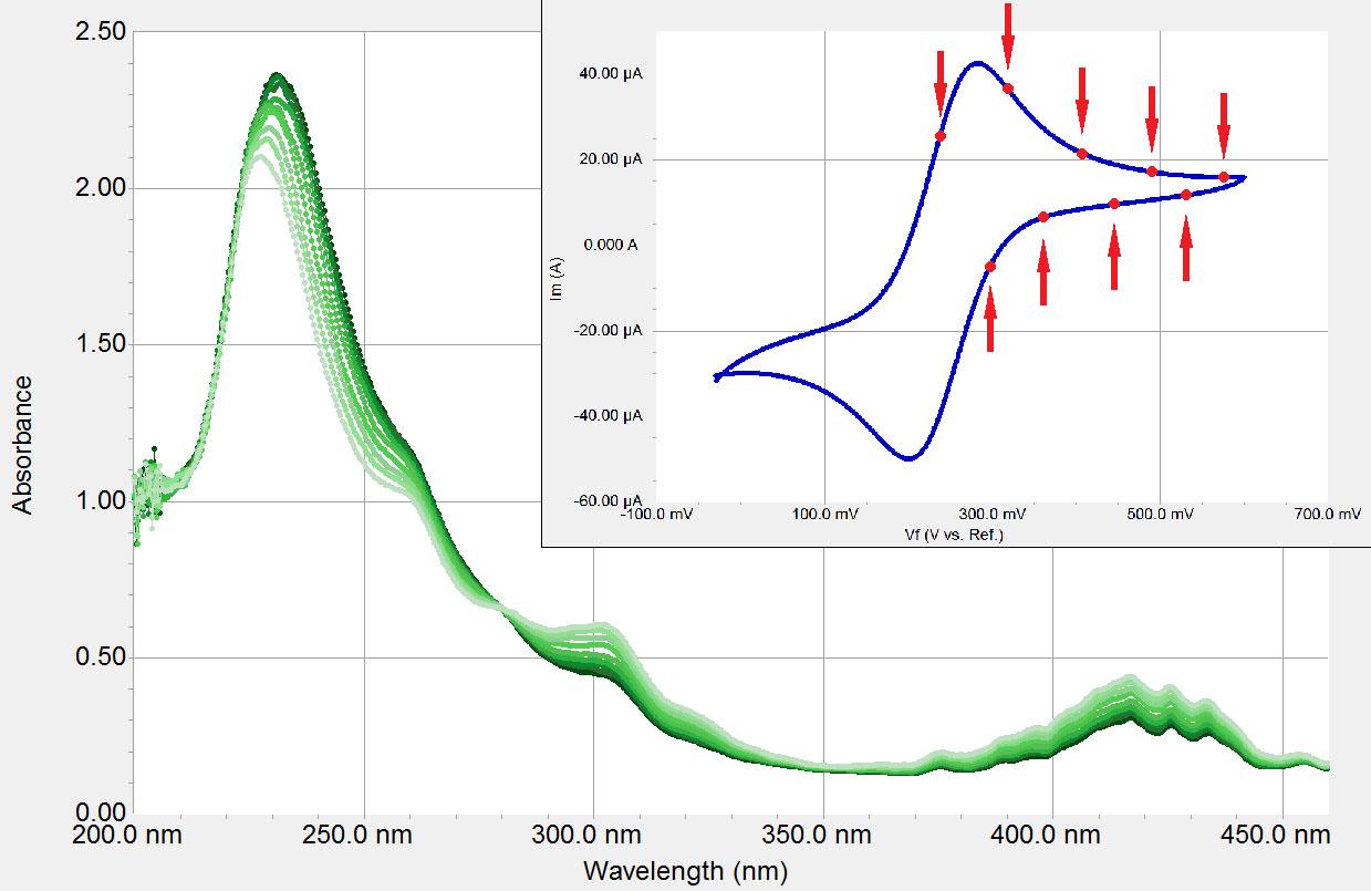 Spectroelectrochemistry Systems Uv Vis Raman Spectroscopy