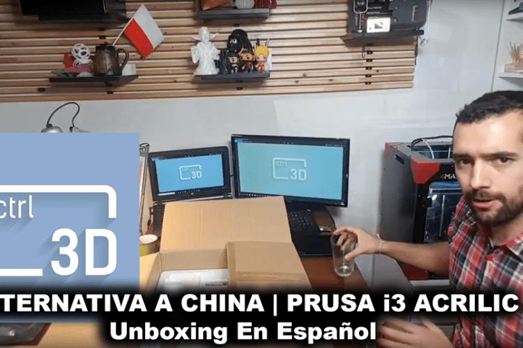Unboxing Prusa i3 en Español