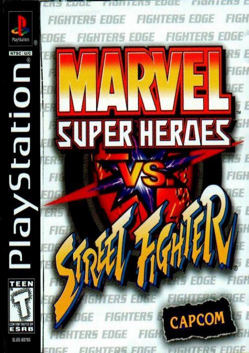 Marvel Super Heroes Vs Street Fighter ROM Download For PSX Gamulator