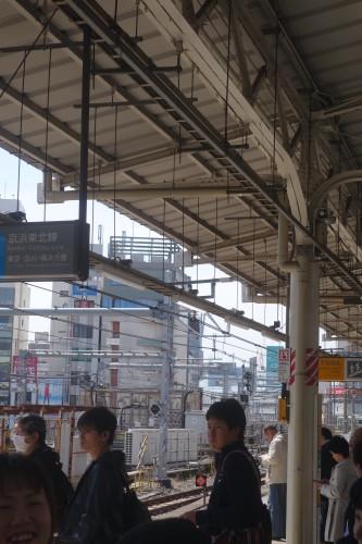 Allez savoir pourquoi, j'adore l'ambiance des quais au Japon...
