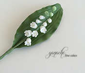 Handcrafted Sugar Flowers- Lily Of The Valley