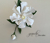Handcrafted Sugar Flowers- Magnolia