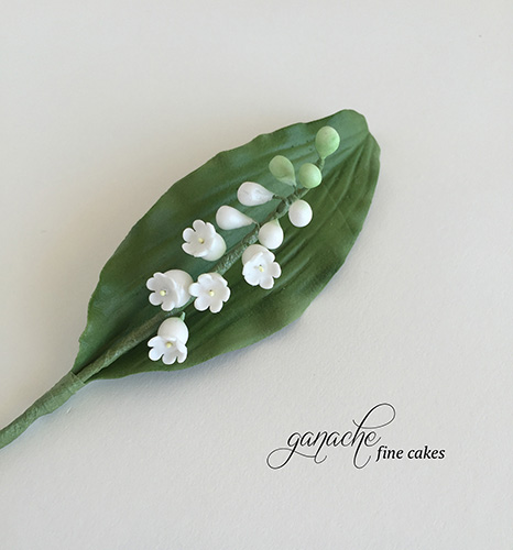 Handmade Sugar Flower- Lily Of The Valley