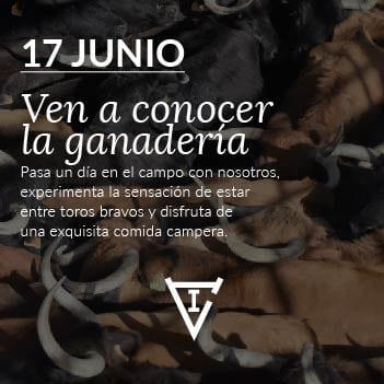 Visita nuestra ganadería el próximo 17 de Junio