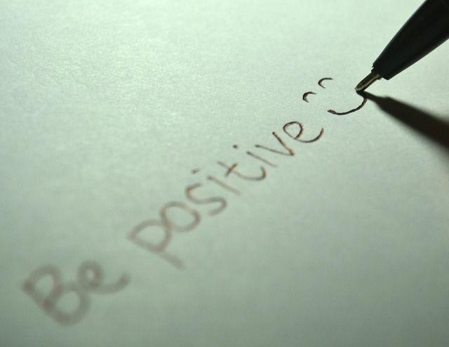 Ser positivo y pensar en ganar