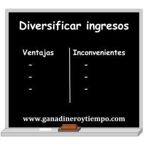 Diversificar ingresos