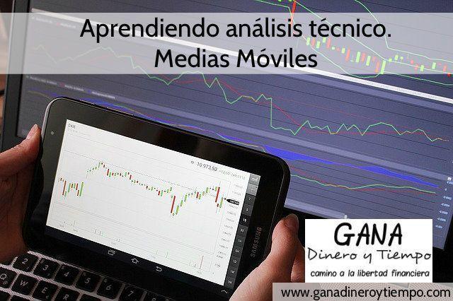 Aprendiendo análisis técnico. Medias Móviles