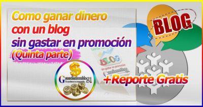 Como ganar dinero con un blog sin gastar en promoción (5) [Múltiples Fuentes de ingresos]