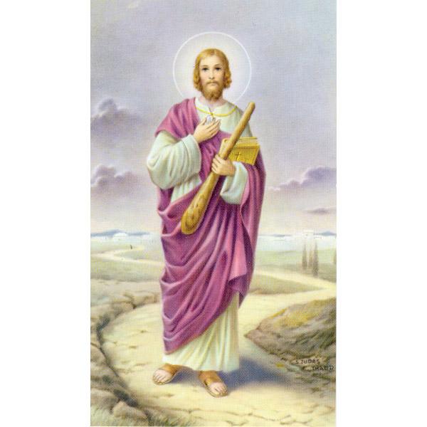 san judas prayer card gannon s prayer card co