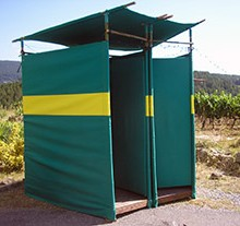 Cabine de toilettes sèches Carlettes