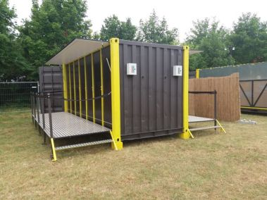Container ouvert