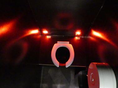 Assise des toilettes du container