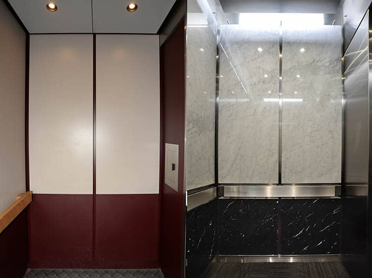 G&R Custom Elevator Cabs Modernization 21st Century Bank Minneapolis
