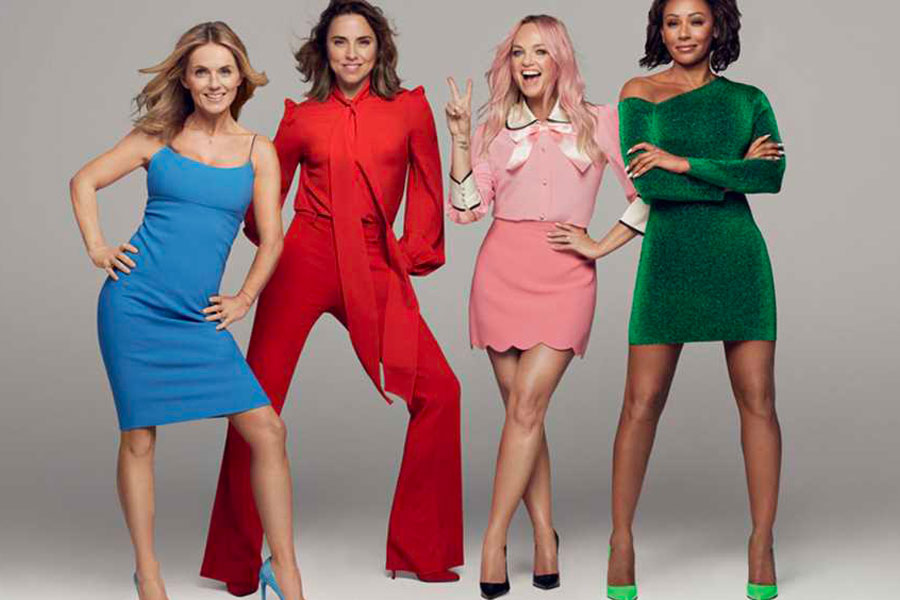 Image of the Spice Girls - book a chauffeur to their concert from GandT Executive