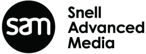 The company logo of Snell Advanced Media