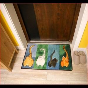 tapis de sol 4 chats 40×60 7
