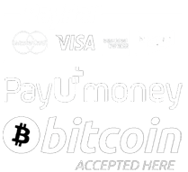 Payment Methods - Paypal, Payumoney, Bitcoin