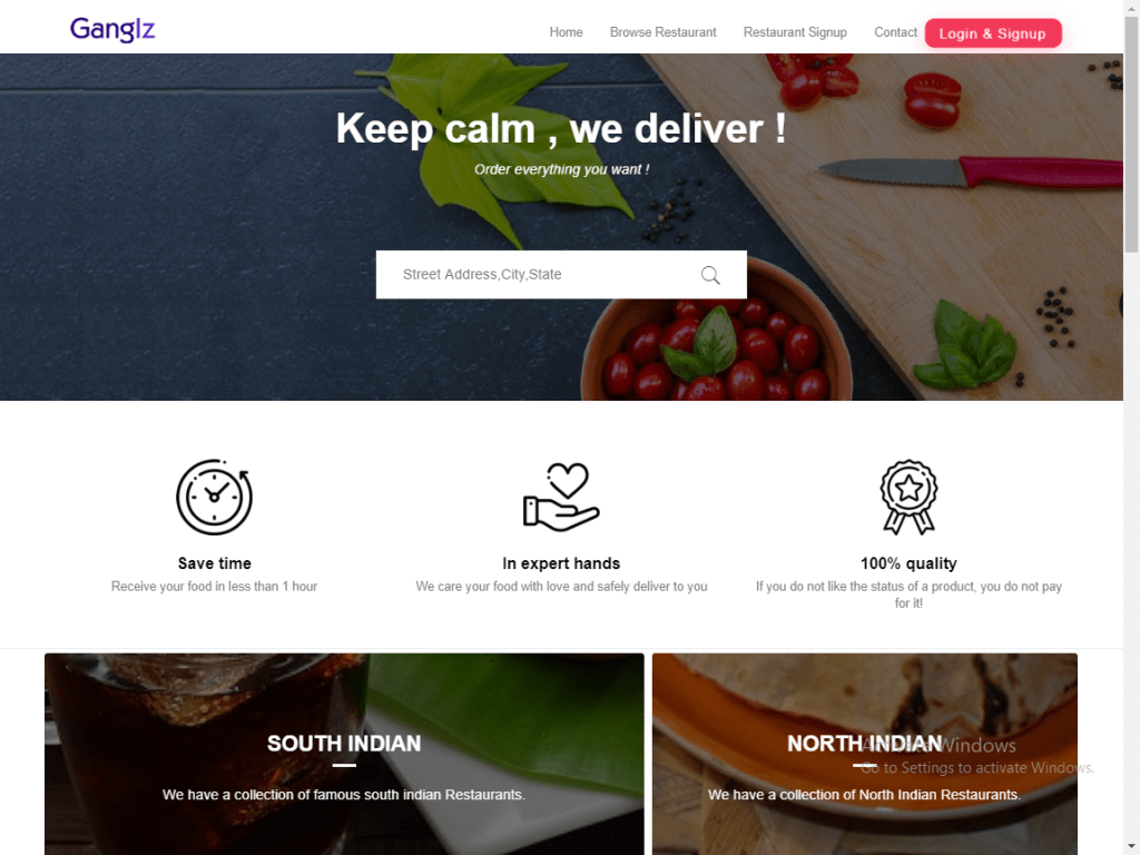 RestoMag – Karenderia Multi Restaurants Template