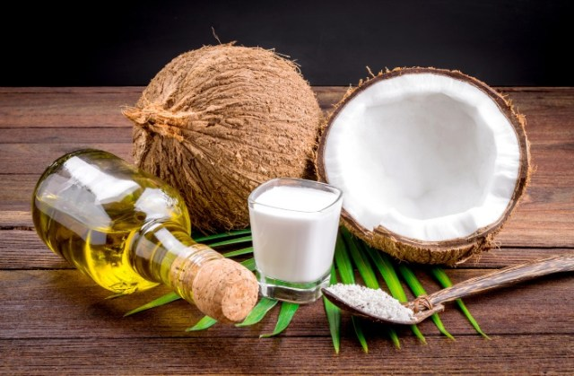 Coconut oil-Home Remedies for Glowing Skin.