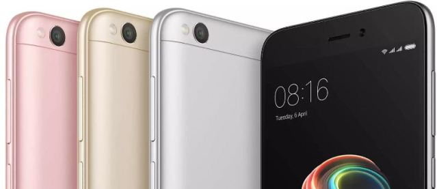 Xiaomi Redmi 5A Launched In India,Price and Specifications