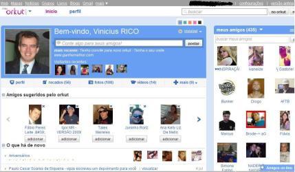 convite novo orkut