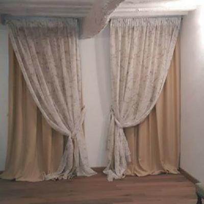 Lydmlzyd tenda da ricamo pannelli di tende di cotone di lino bianco in tende tende classiche per le ragazze per. Tende Shabby Chic E Country Chic Spiegazioni Consigli E Foto Gani
