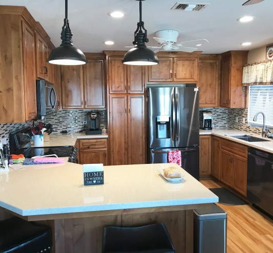 Before remodel of kitchen in Paso Robles