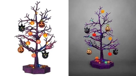 Avon Halloween LED Sparkle Tree