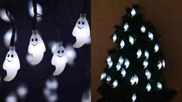 Leviitec Solar Halloween Decorations String Lights