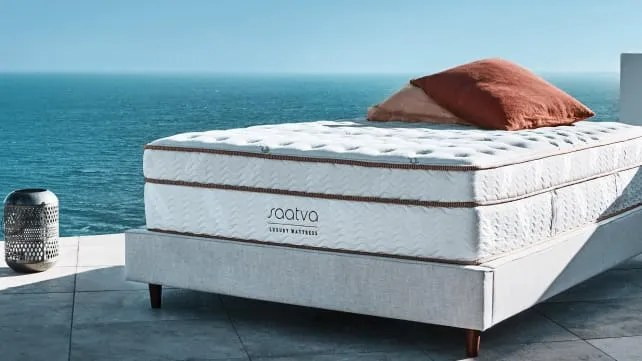 This hefty mattress is comfortable, though it has a lot of trouble absorbing movement.