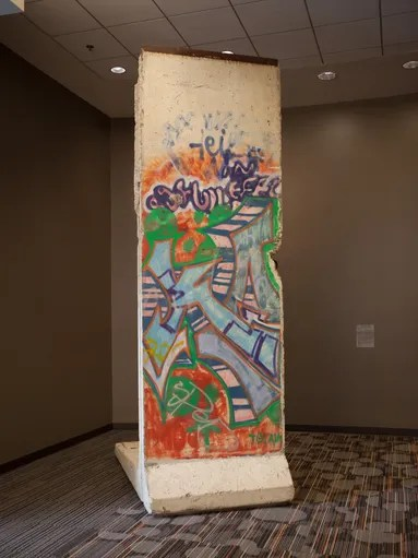 Section of Berlin Wall at Microsoft Conference Center