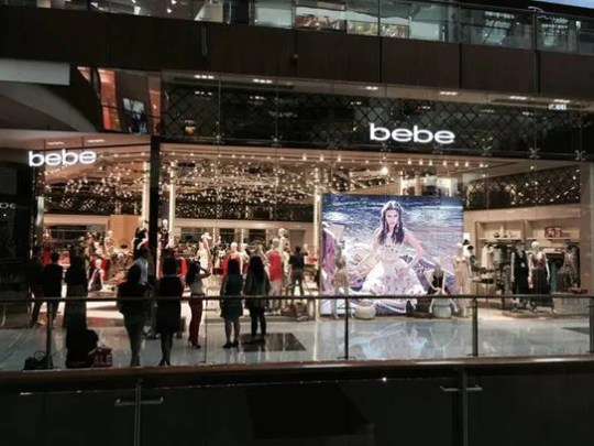 Bebe Stores plans to close all of its locations.