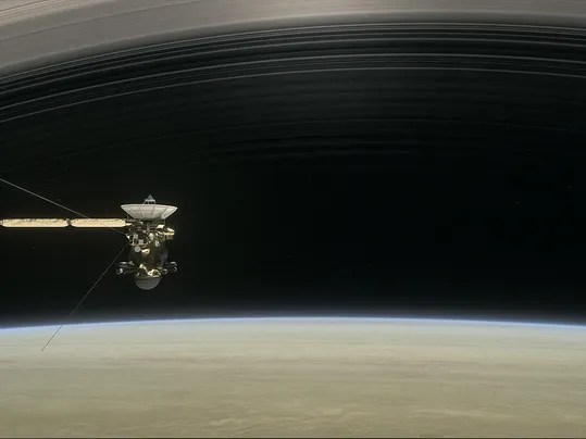Last adventure ahead for NASA's Cassini spacecraft